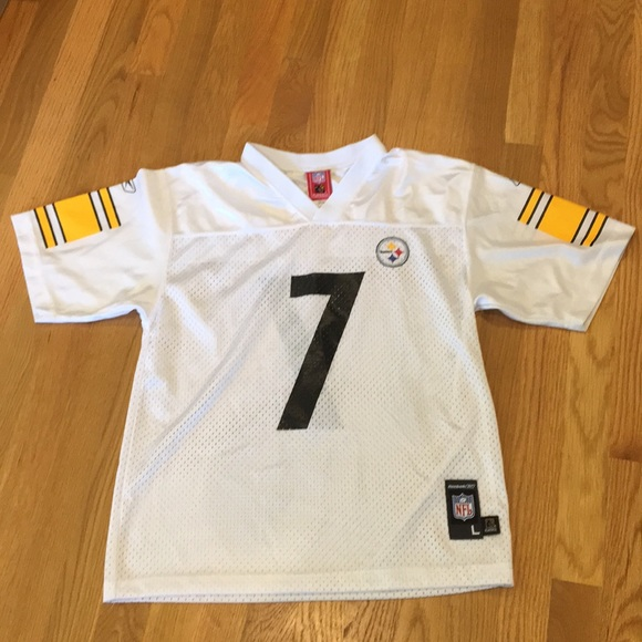 best authentic edc0a 6c41d Pittsburgh Steelers Football Jersey #7